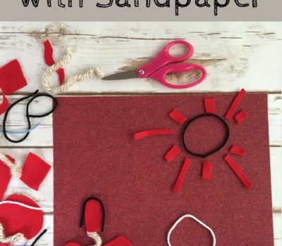 3 Ideas for Creative Storytelling with Sandpaper