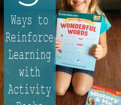 Three Ways to Reinforce Learning with Activity Books