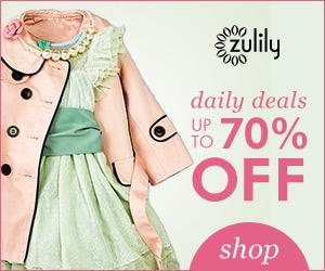 ZULILY Daily Deals – up to 70% OFF for Moms, Babies, & Kids