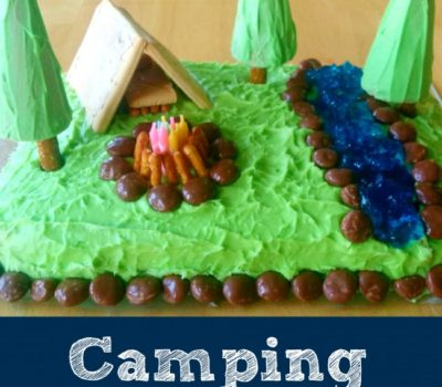 Easy DIY Camping Cake (Version 2.0)
