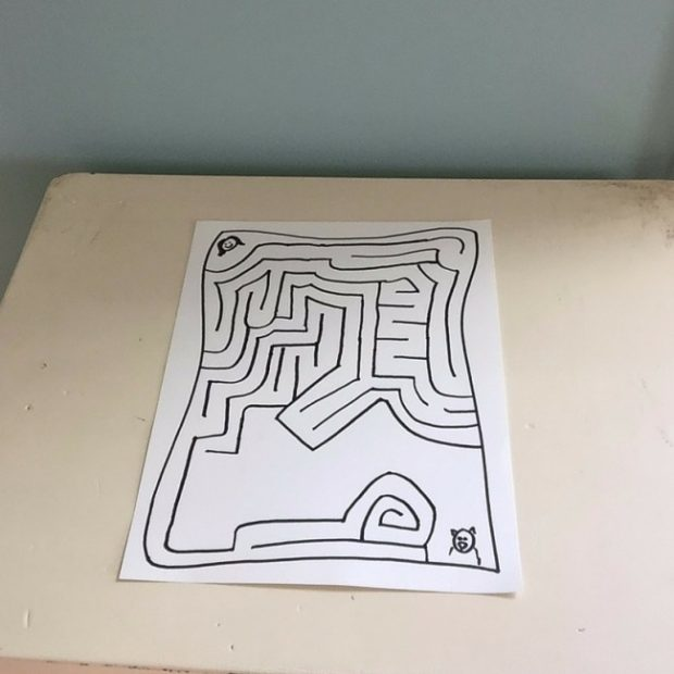 how to make a fun maze for your kids 11