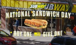 subway nat'l sandwich day