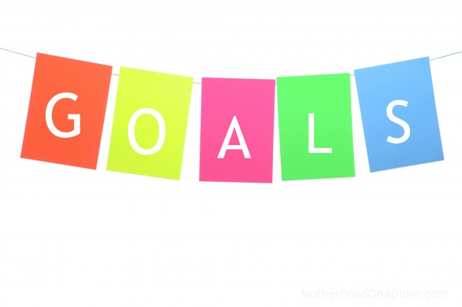 Goals and resources for goal setting