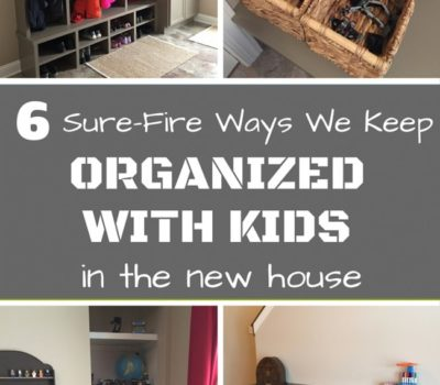 Organize Your Kids' Stuff in Every Room of the House!