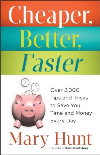 Cheaper, better, faster book on sale