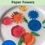 How to Amaze Your Kids with Blooming Paper Flowers