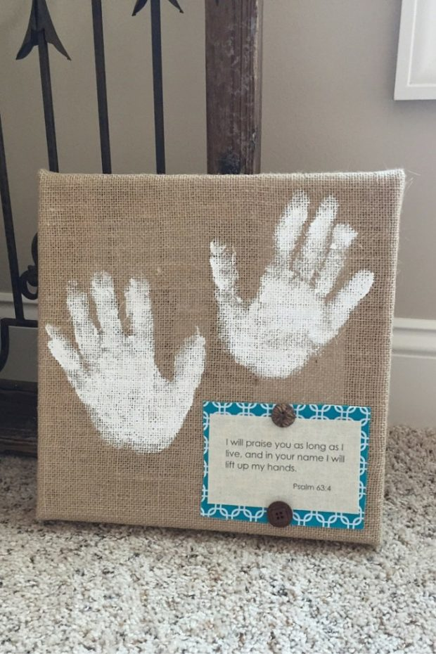 How to Make Burlap Wall Art with Your Kids (14)
