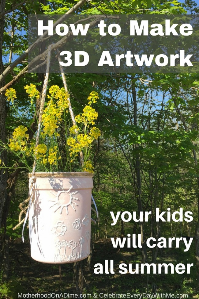 Summer Carry On Only Wardrobe For Spain: How To Make 3D Artwork Your Kids Will Carry All Summer