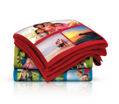 Custom 40×60 Photo Collage Fleece Blanket for $15 Shipped (reg. $59.99)