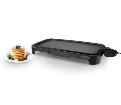 Black + Decker Family Size Griddle – Lowest Price