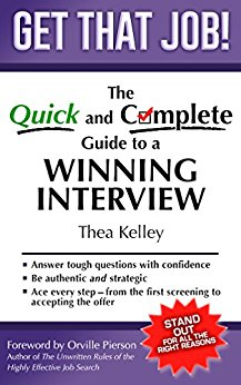FREE eBook:  Get That Job!  The Quick & Complete Guide to a Winning Interview