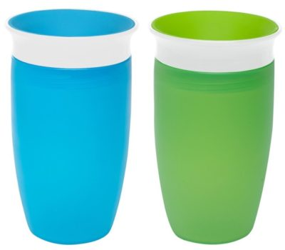 Price Drop! Highly-Rated Munchkin Miracle 360 Degree Sippy Cups for $3.20 Per Cup (2-Pack)