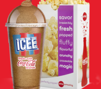 AMC: Coupon for Icee + Popcorn for $5 (Teens ONLY)
