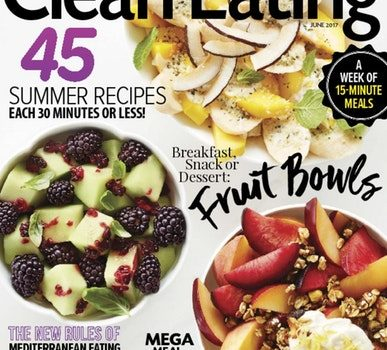 Clean Eating Magazine for 72% Off