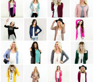 Cents of Style: Cardigans from $11.98 Shipped