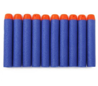 Blue Foam Darts (for Nerf-Style Blasters) – $2.96 Shipped for 100