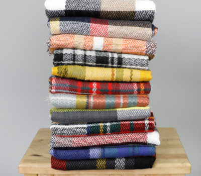 Two Blanket Scarves for $18 Shipped