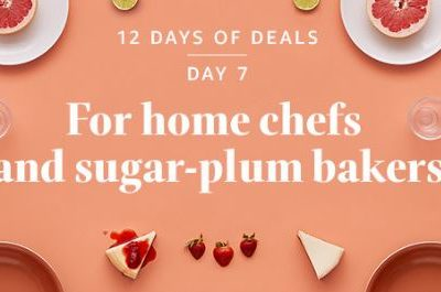 12 Days of Deals: Day 7 – Gifts for Home Chefs & Bakers