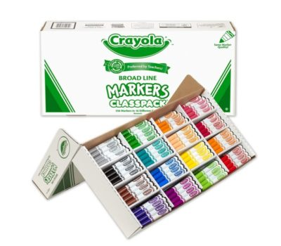 Crayola Classic Markers Class Box – Lowest Price!!
