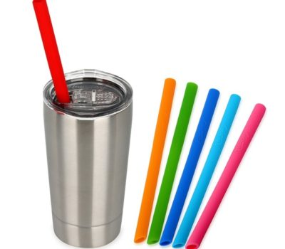 Stainless Steel Insulated Cup w/Straw for $8.99 (reg. $19.99)