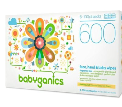 Babyganics Wipes Deal