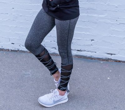 Lace Up Leggings for $15.99