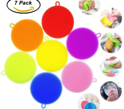Silicone Dish Scrubbers (7 Pack) – Lowest Price