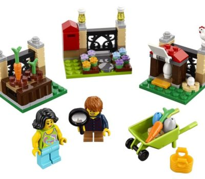 LEGO Easter Egg Hunt Building Kit