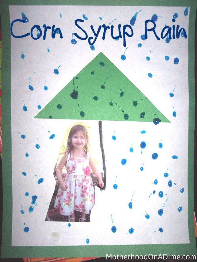 Corn Syrup Rain