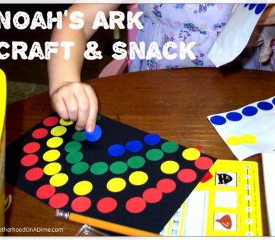 Noah's Ark Crafts & Activities for Kids