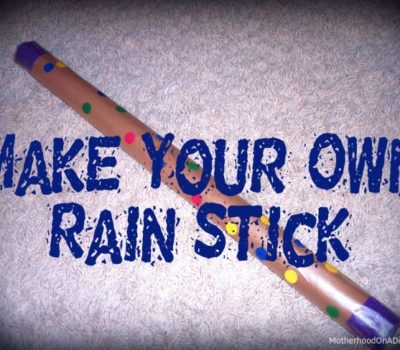 Make Your Own Rain Stick Craft