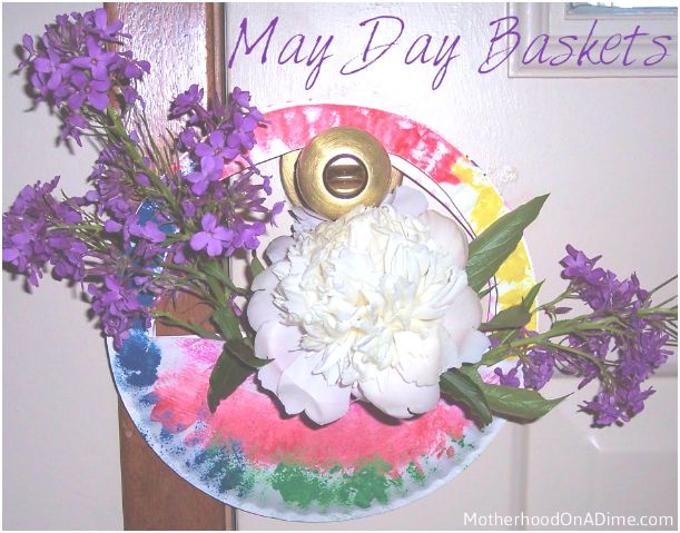 May Day Craft:  Basket for Kids to Make