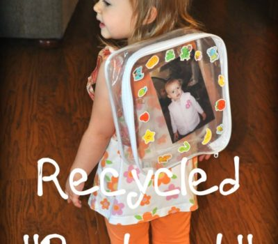 """Sheet Set"" Plastic Bag Backpack"