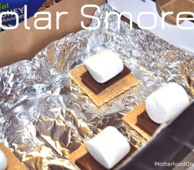 National S'mores Day Fun!  Solar S'mores Snack