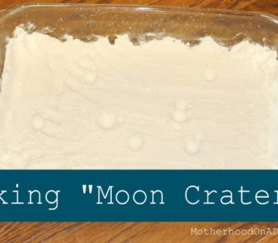 Experiment: Making Moon Craters