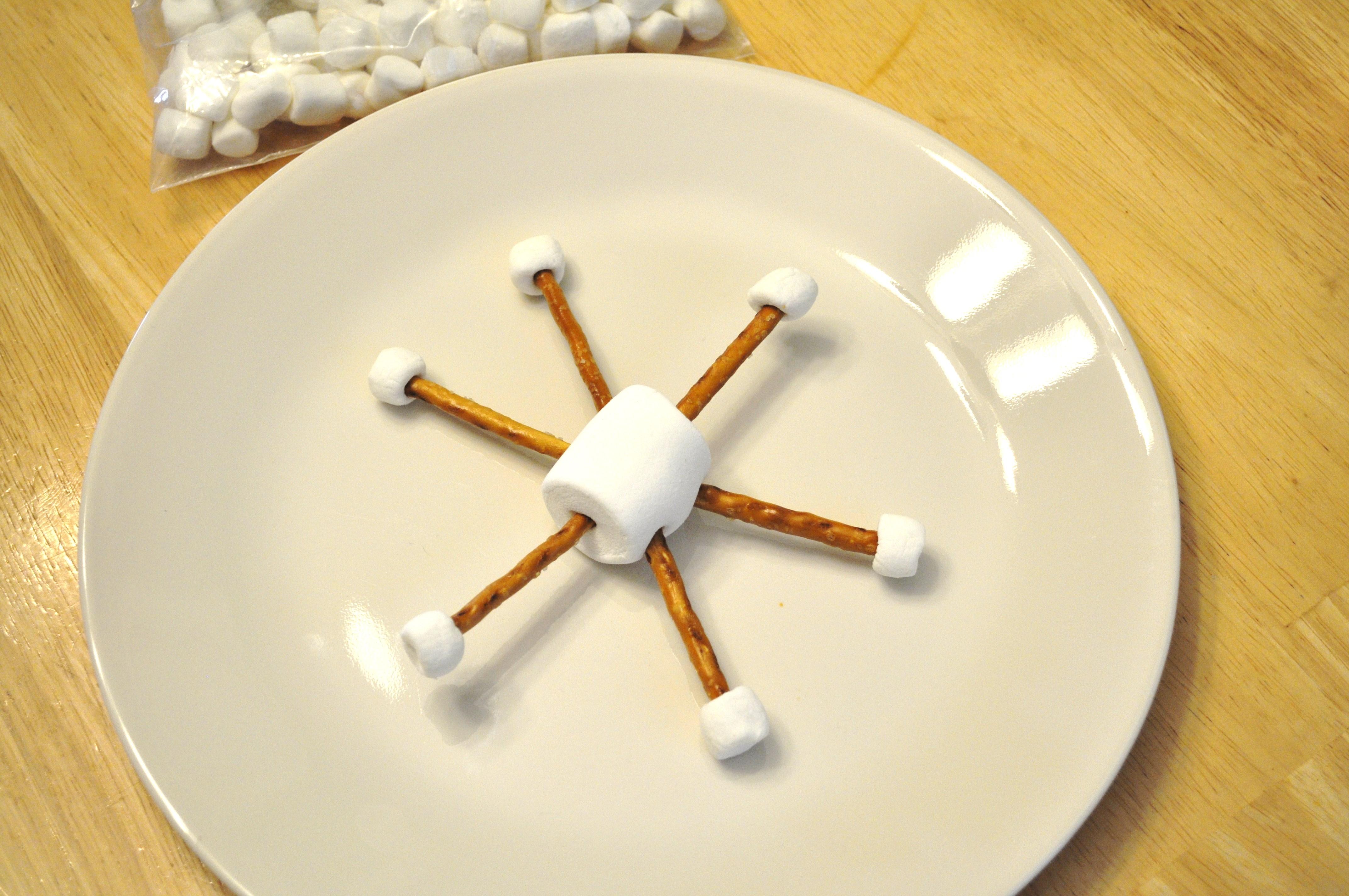 Snowman Food Craft Ideas