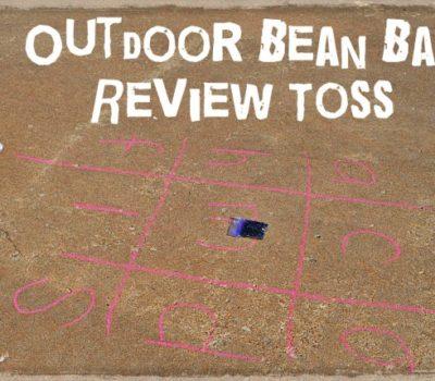 Alphabet Review: Outdoor Bean Bag Toss