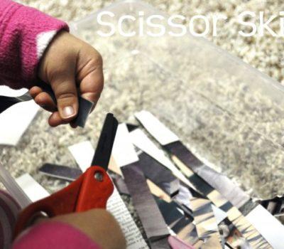 Learning Basket: Scissor Skills