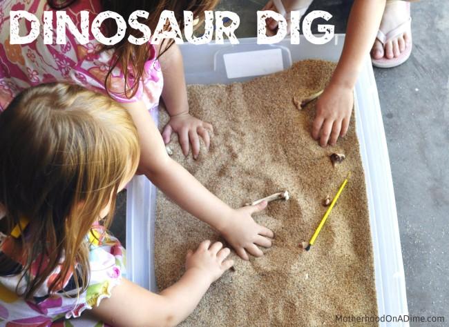 u0026quot dinosaur u0026quot  excavation for kids