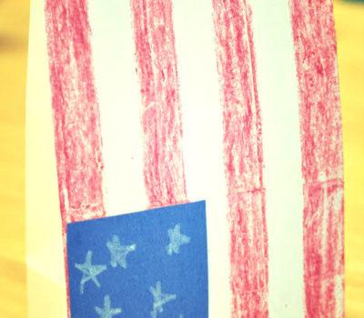 4th of July: Flag Bag