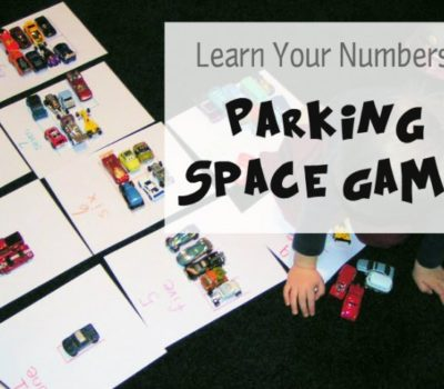 Transportation: Learning Numbers with the Parking Space Game