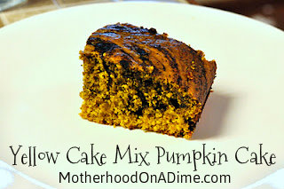Tasty Tuesday: Cake Mix Pumpkin Cake
