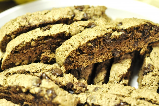 Easy Chocolate Biscotti