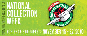 Spirited Sunday: Operation Christmas Child
