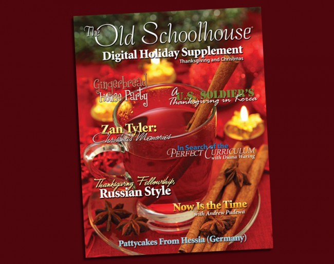 Free Holiday E-Book from The Old Schoolhouse Magazine