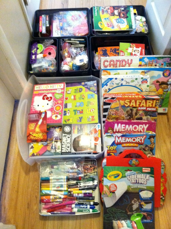 "Organizing & Utilizing the ""Fun Closet"":  Make a List of Simple Activities to Keep Kids Occupied"