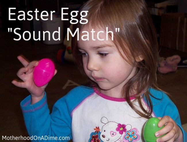 Easter Egg Activities (Sound Match Game)
