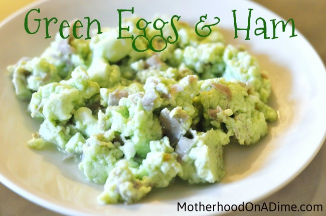 Green Eggs and Ham:  Delicious or Disgusting?!!