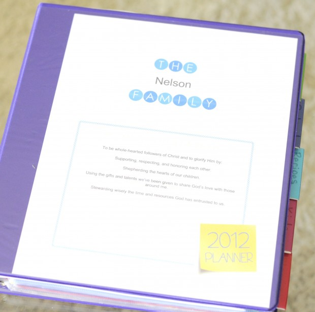It\'s Finished (Well, Pretty Much)! My Home Management Binder + FREE ...