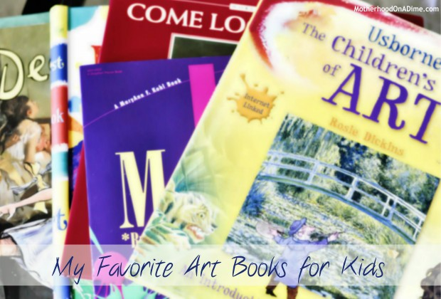 my favorite art books for children famous artists and art